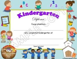 christian religious diplomas for preschool grade 6 lessons for