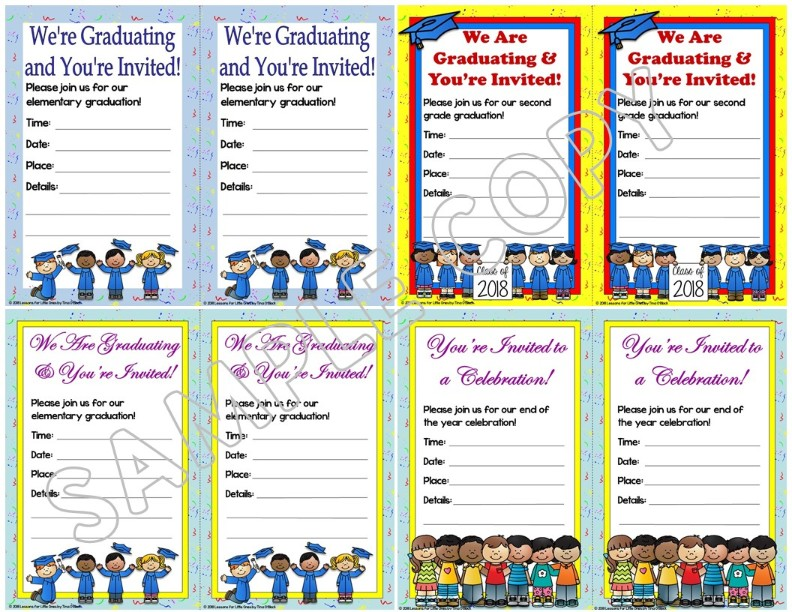 editable graduation invitations