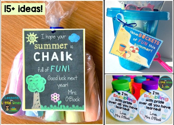 End Of The Year Student Gifts Gift Tags Lessons For Little Ones