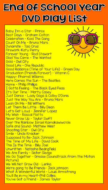 end of year dvd play list