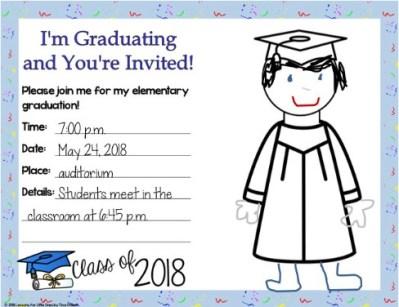 graduation invitation editable