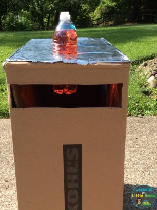light box sun science experiment
