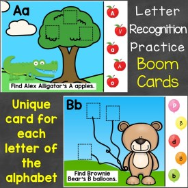 Letter Recognition Boom Cards
