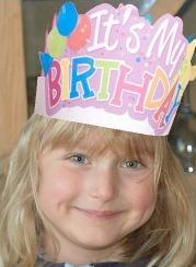 student birthday crown