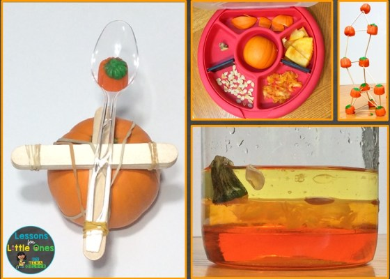 pumpkin science experiments & STEM activities