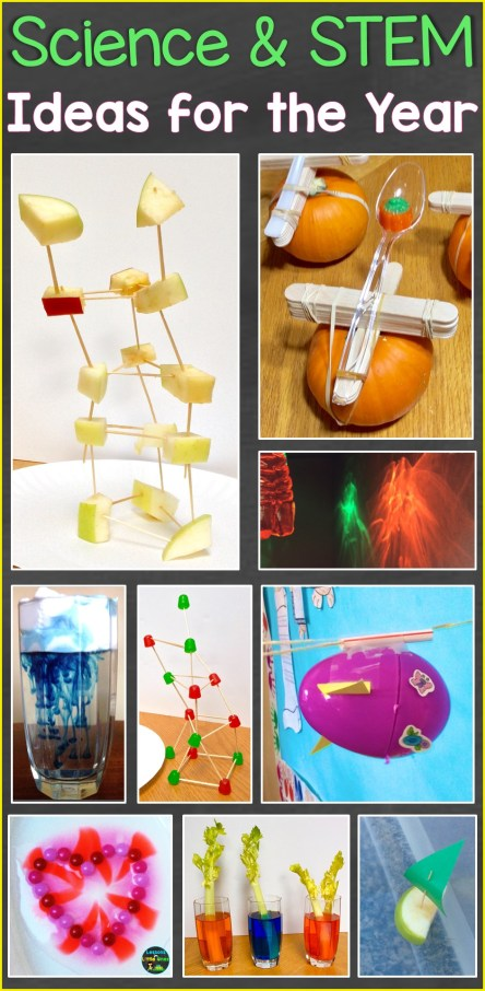 science experiments & STEM for the year