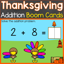 Thanksgiving addition to 10 Digital Boom Cards