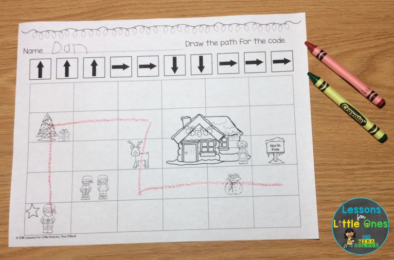 computer coding sequencing practice