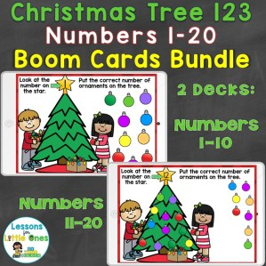 Christmas Numbers 1-20 Bundle