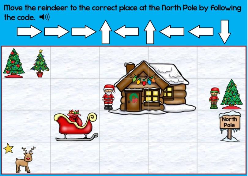 Christmas coding sample