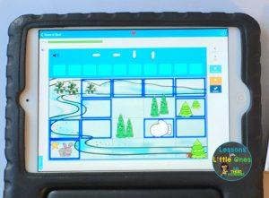 digital coding practice The Mitten