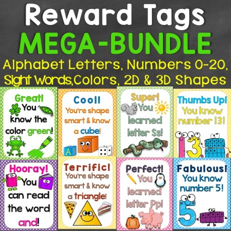 Reward Tags Megabundle