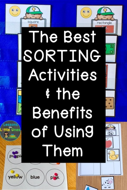 The Best Sorting Activities & the Benefits of Using Them