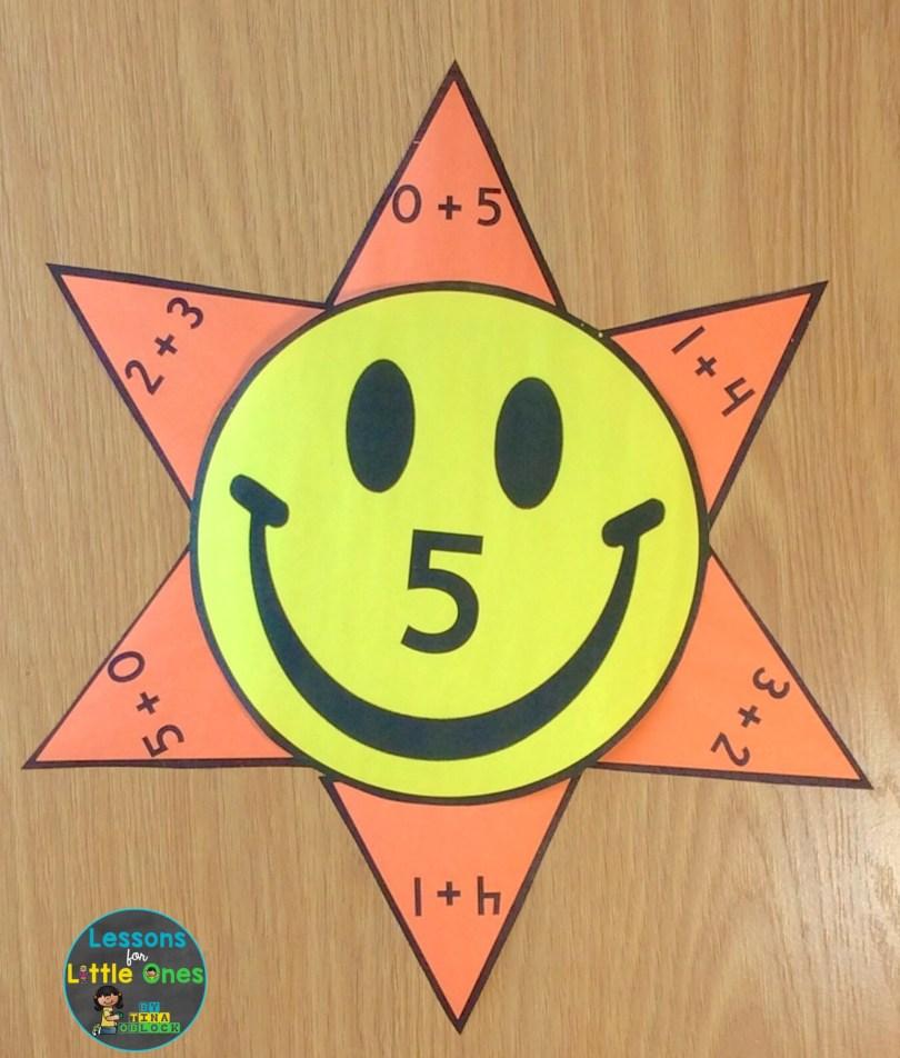 sun math learning center freebie
