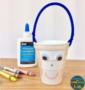 bucket filler craft student buckets