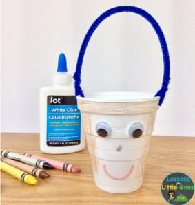 bucket filler craft student buckets
