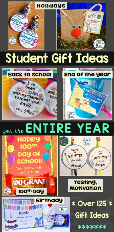 student gift ideas for the entire school year