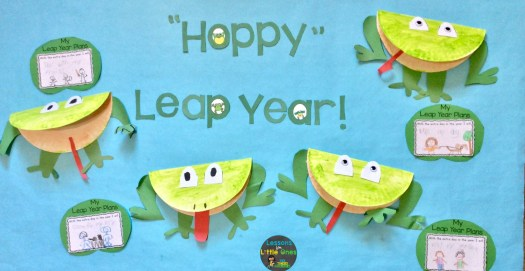 Leap year bulletin board & writing prompt
