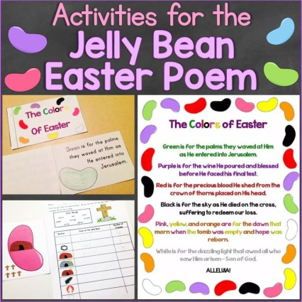 Activities for the Jelly Bean Easter Poem
