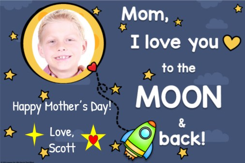 Mother's Day Card for Google Classroom