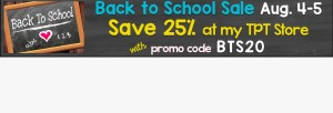 back to school Teachers Pay Teachers Sale
