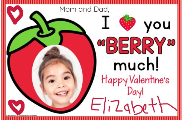 digital valentine cards for seesaw app