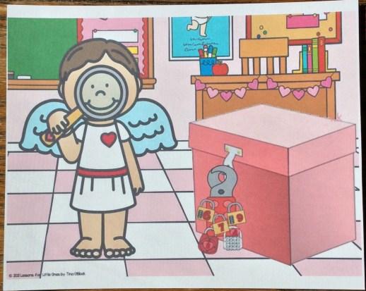 valentine escape room scene