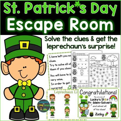 St. Patrick's Day Escape Room