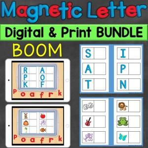 Alphabet Letters Letter Sounds Print Digital Boom
