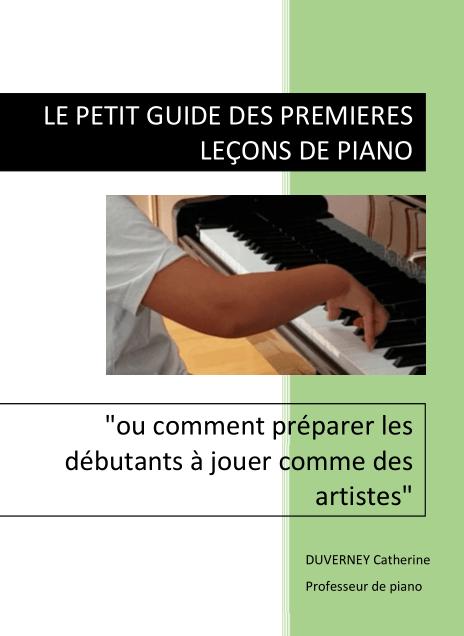 Guide Premières Leçons de Piano