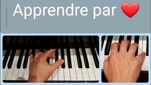 Jouer de mémoire au piano