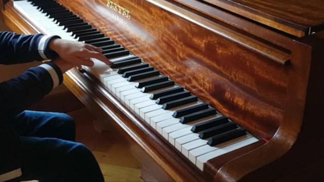 élève piano compétition préparation