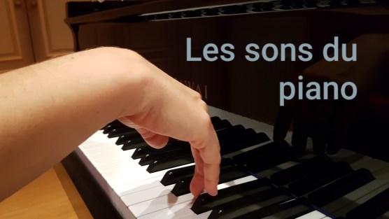 les sons du piano