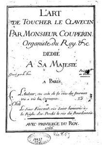 Méthode de François Couperin