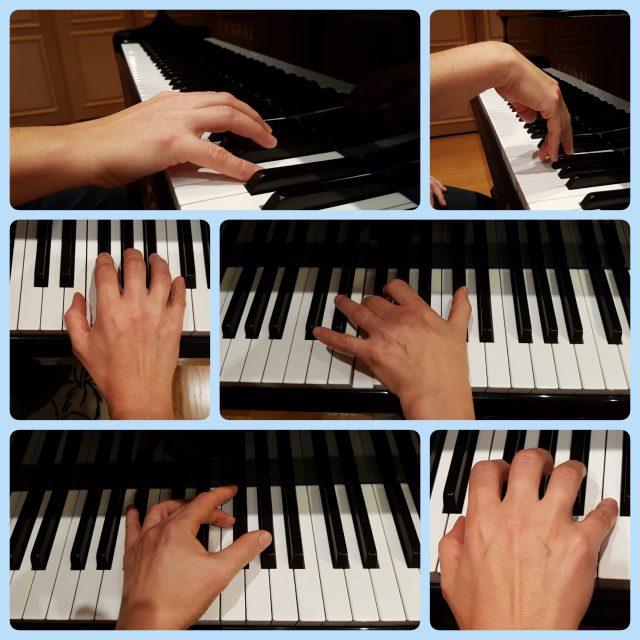 Un bon professeur de piano a une technique solide. Cela se voit à sa main.