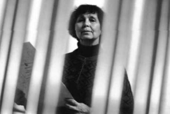Sofia Goubaïdoulina, compositrice russe.