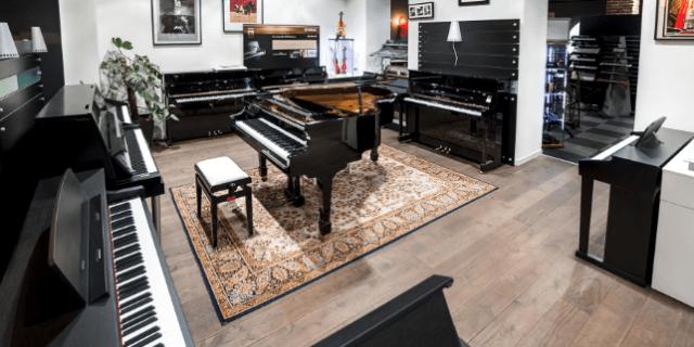 Pianos pour le confinement, boutique de pianos