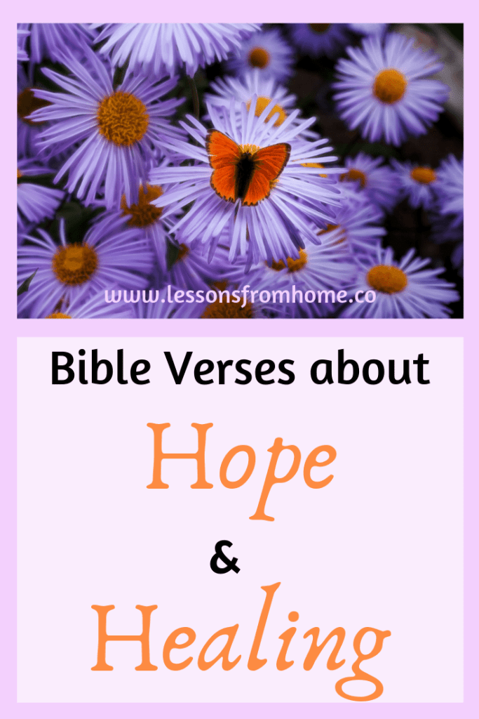 Bible verses about hope and healing