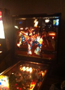 I went for the the pinball games, which were always my best, while my friend went for Ms. Pacman and Frogger. Just like the old days!
