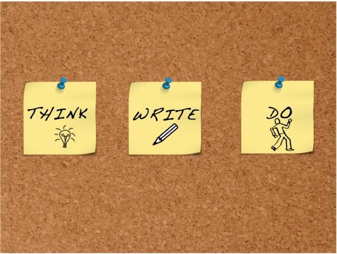 think write do
