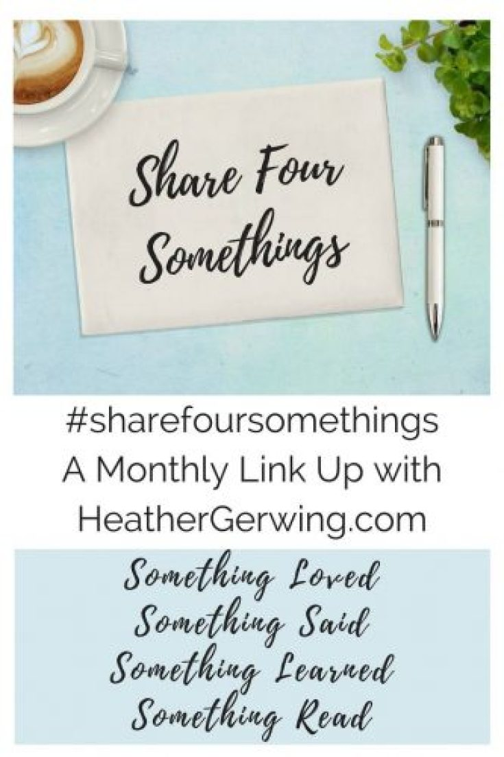 Share Four Somethings Link Up
