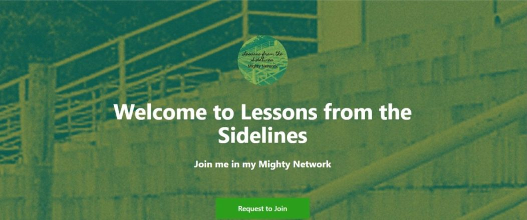 mighty network landing page photo