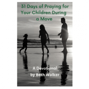 31 Days of Prayer for Your Children During a Move Devotional