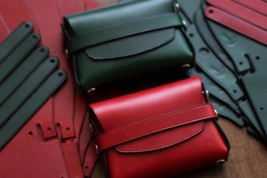 No Sew Leather Pouch Leather Craft Courses In Singapore LessonsGoWhere