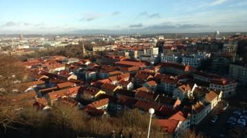 View of Gothenburg from Skansen Krona.