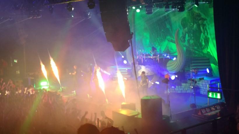 Amon Amarth plays at Lisebergshållen on 16 December 2016.