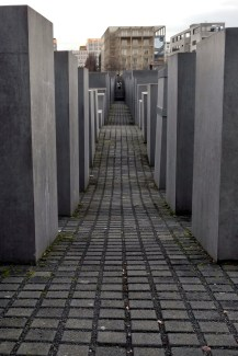 Memorial to the Murdered Jews of Europe, Berlin, Germany, 2016.