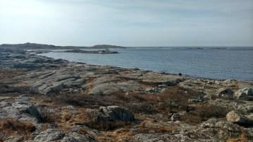 Atop one of Vrångö's many rocky cliffs. (Gothenburg, 25 April 2017)