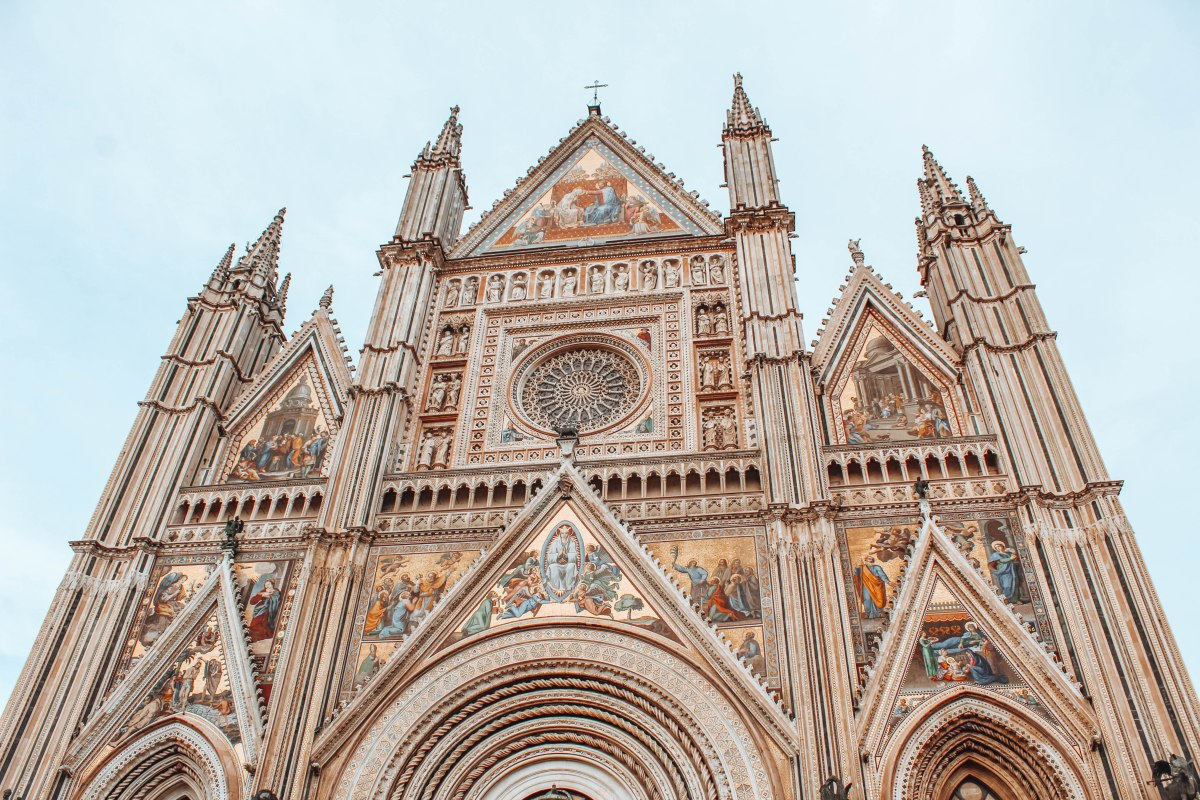 What is in Orvieto, Italy