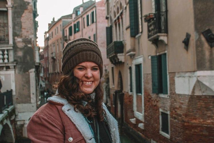 Wintertime in Venice, Italy